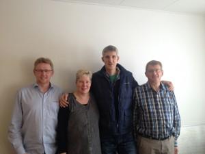 Arbejdsmiljøeksperten. Niss Rasmussen,Jane Norgreen, Lars Søndergaard, Lars Nielsen