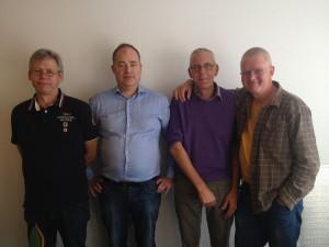 Peter Quist Peter Quist, Christian Larsen, Palle Rasmussen, Carsten Abildgaard