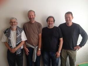Søren Garde Søren Garde, Arne Skyrum, Torben Rossel, Anders Hanberg