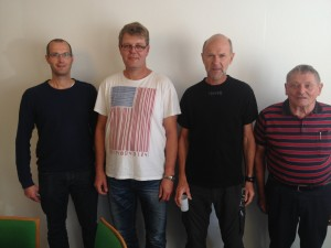 Lars H. Christensen Lars Andersen, Lars H. Christensen, Svend Erik Eriksen, Orla Andersen