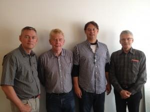 Benny Marquart Keld Grann, Preben Taasti, Steffen Wich, Lars P. Damgaard