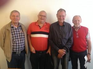 Kim Lysholt Kim Lysholt, Bjarne Juul Nissen, Kjeld Sørensen, Asger Friis